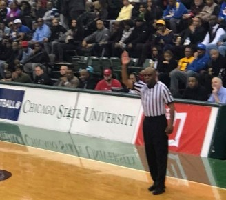 Vern Turner officiating